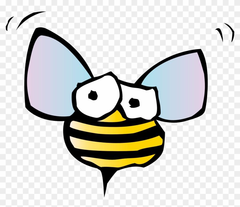 Clip Art Of Bees - Cartoon Bugs #65284
