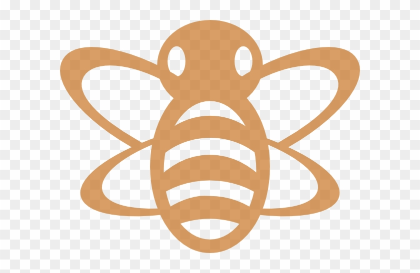 Brown Bumble Bee Clip Art At Clker - Bumble Bee Clip Art #65290