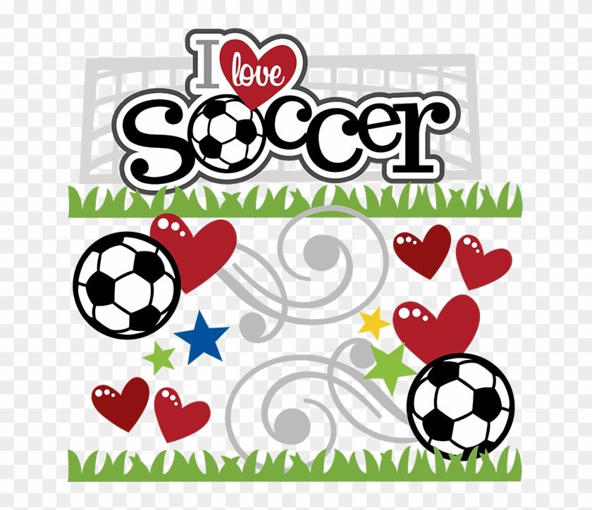 Love Soccer Cliparts - Soccer Scrapbook #65302