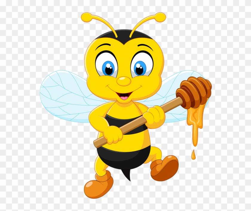 Bee Clipart Kindergarten - Cartoon Honey Bee #65343