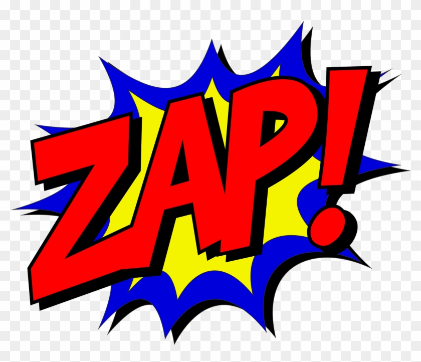 Zap-1601678 - Kapow! Zap! Pow! Comic Book Themed Shower Curtain For #65352