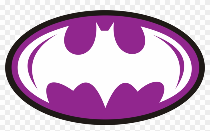 Batman Clipart Vector - Batman Logo Png Purple #65359