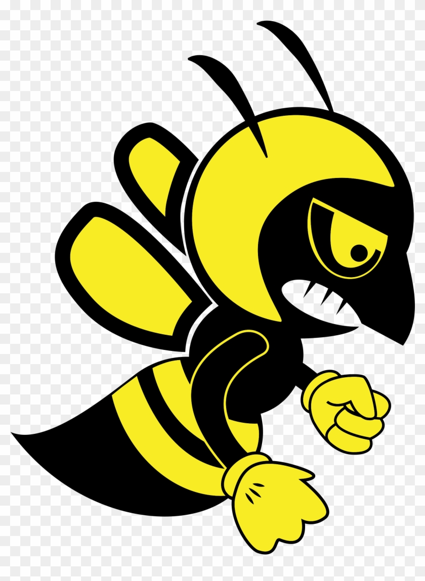 Bee Clipart - Bee Fight Clipart #65367