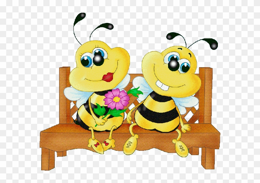 Discover Ideas About Bee Happy - Honey Bee In Love #65401