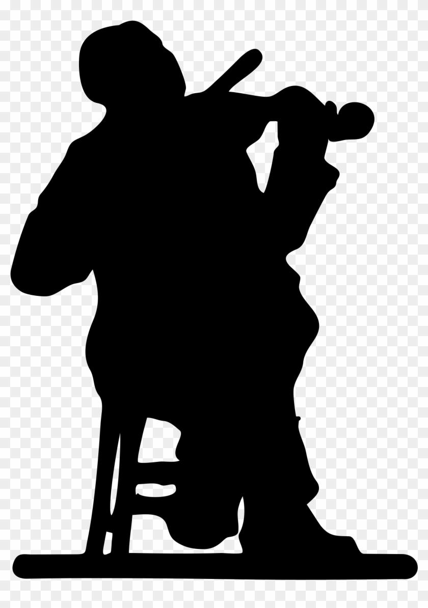 Silhouette Bumblebee Clip Art - Orchestra Clip Art #65435