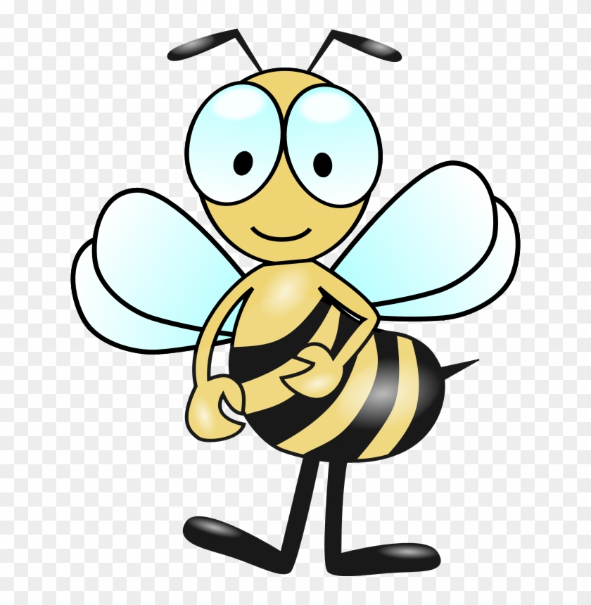 Cartoon Bumble Bee Clip Art Clipart - Parts Of A Bee Worksheet #65463