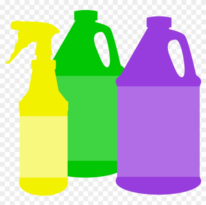 Cleaning With A Peel - Cleaning Products Clipart #65488