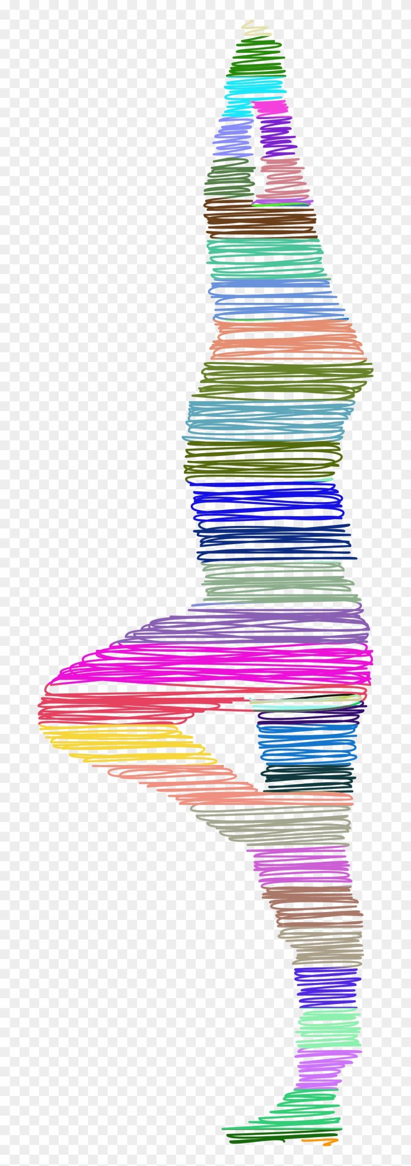 Big Image - Yoga Pose Colorful #65491