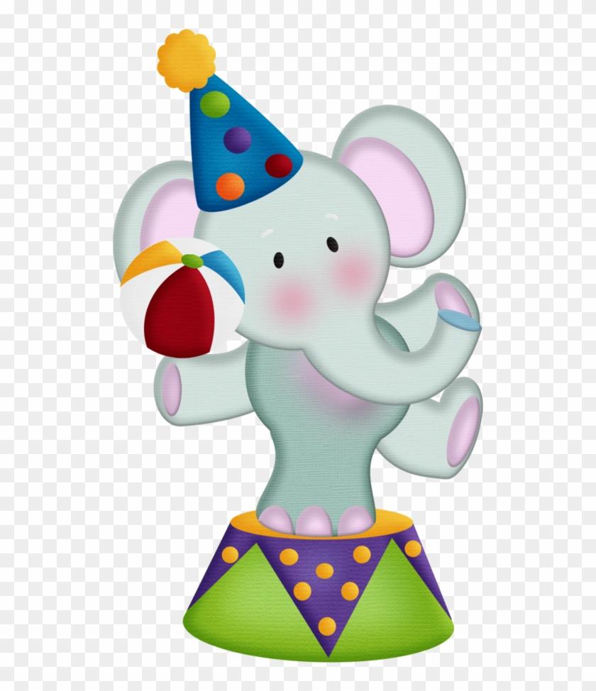 Aw Circus Elephant - Elefante De Circo En Fomi #65616