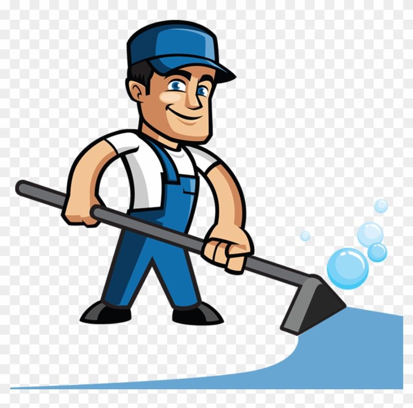Cartoon Carpet Cleaning Clipart - Carpet Cleaning Cartoon #65679
