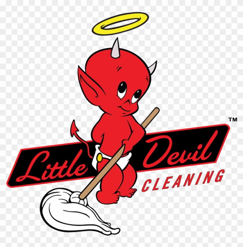 Little Devil Cleaning - Little Devil Logo #65696