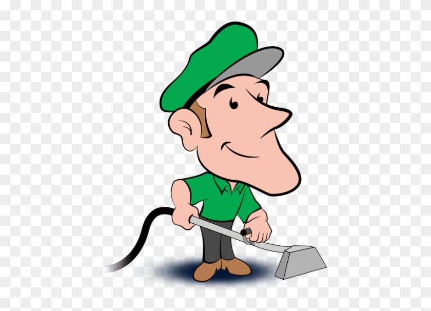Carpet Cleaning Cartoon #65742