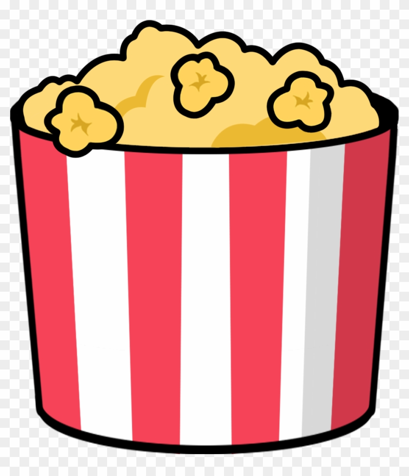 Free To Use & Popcorn Clip Art - Cartoon Popcorn Png #65798