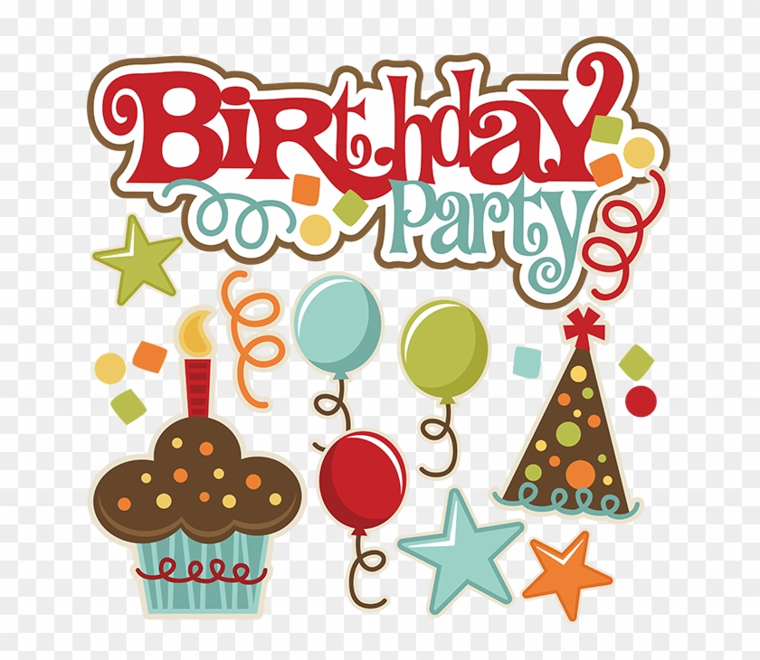 Birthday Cake Scrapbooking Clip Art - Birthday Cake Scrapbooking Clip Art #65858