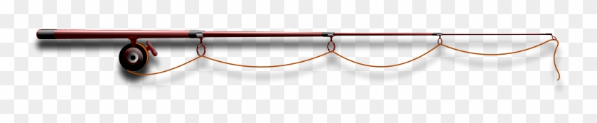 Fly Fishing Rod Clip Art Fishing Rod - Fishing Pole Border Png #65866