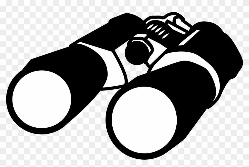 Investigations - Binoculars Clip Art #65914