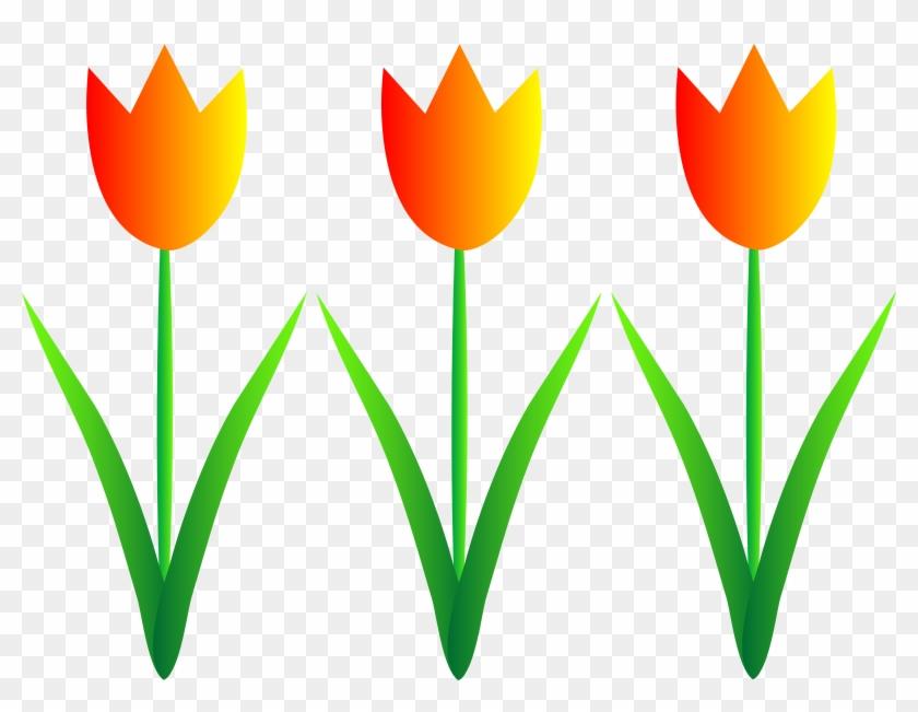 Spring Flowers Border Clipart - Flowers Clip Art #66000