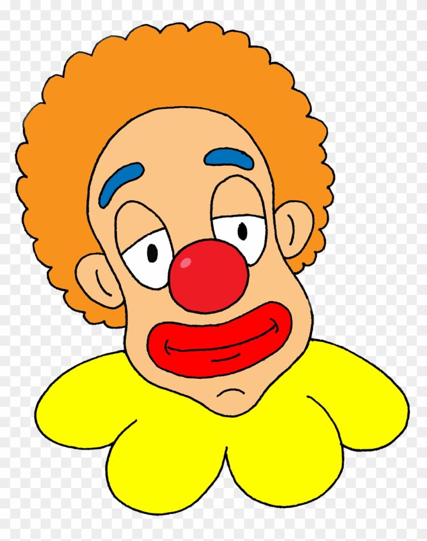 Image Of Clown Face Clipart 9 Free Clown Clipart 1 - Clown Head Transparent Background #66030