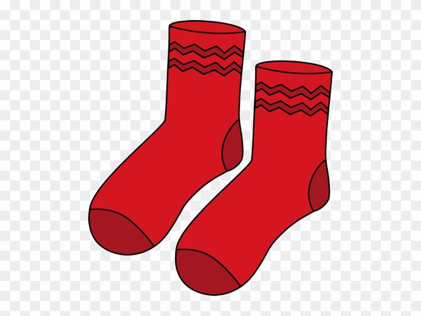 Stunning Design Ideas Red Clipart Pair Of Socks Clip - Pair Of Socks Cartoon #66036