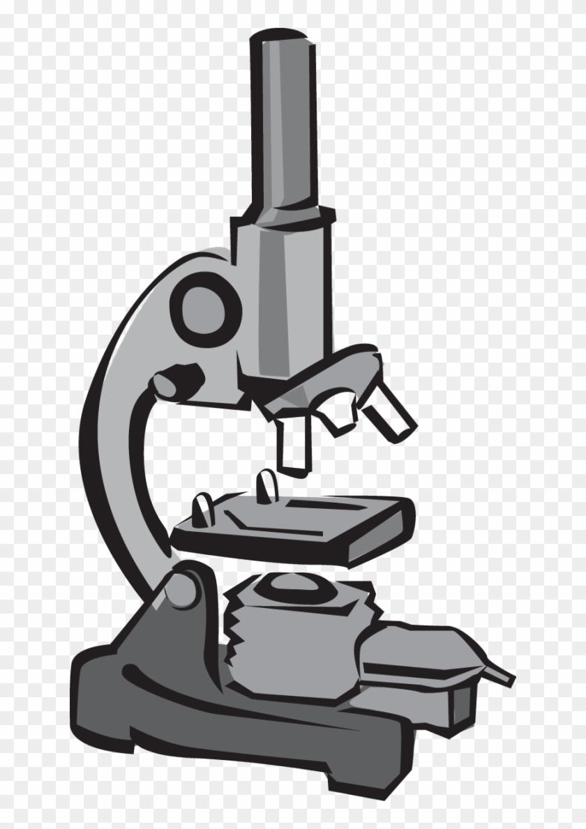 Clip Art Microscope #66040