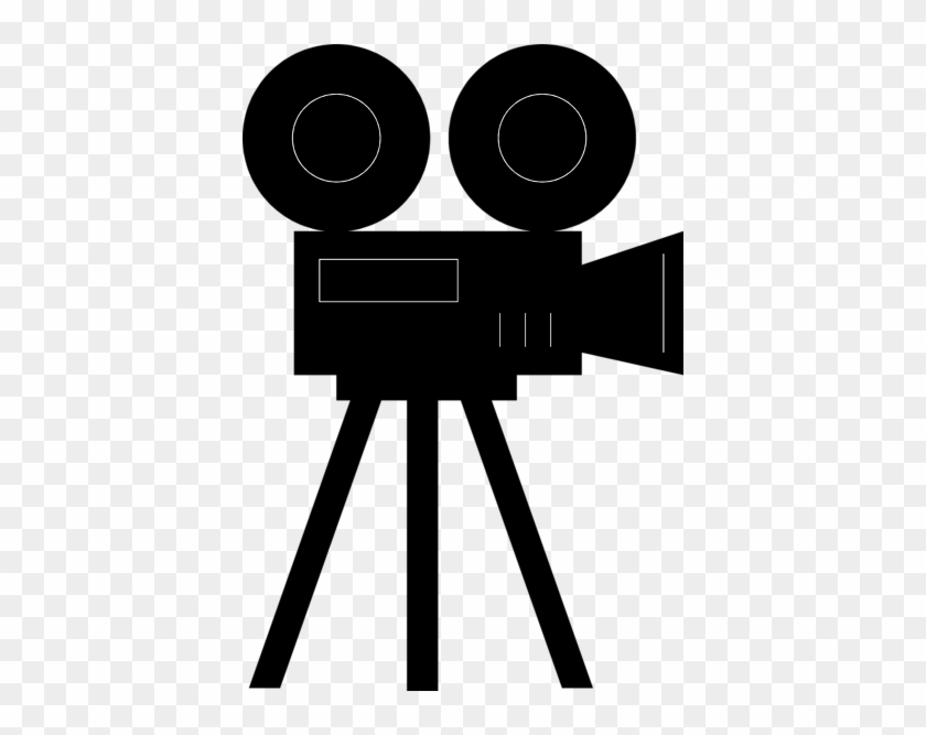 Clipart Of Old Movie Camera Clip Art - Movie Camera #66071