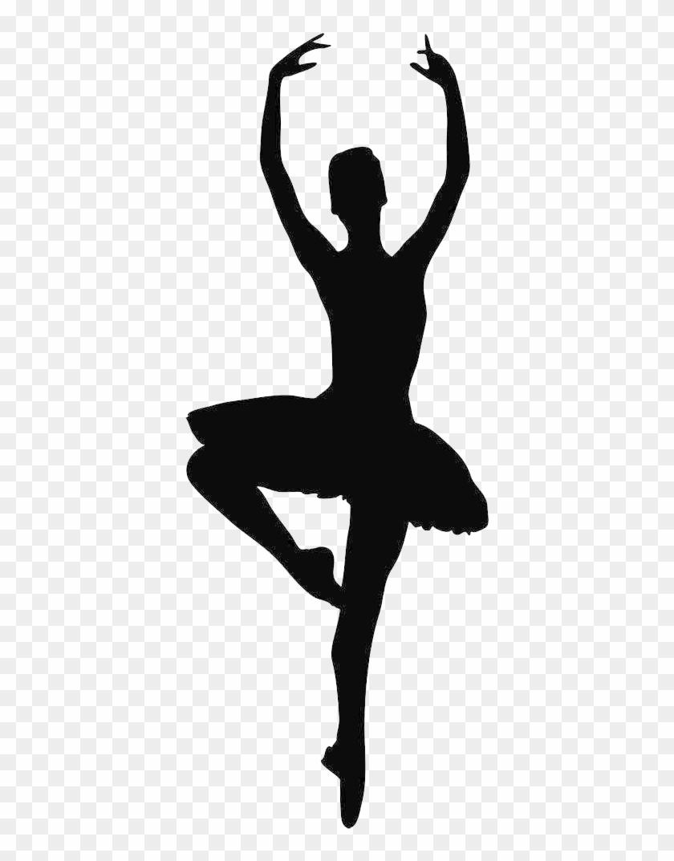 Ballet Dancer Silhouette Clip Art At Getdrawings Com - Ballet Dancer Silhouette #66136