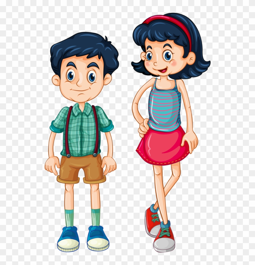 Personnages, Illustration, Individu, Personne, Gens - Brothers And Sisters Clipart #66149