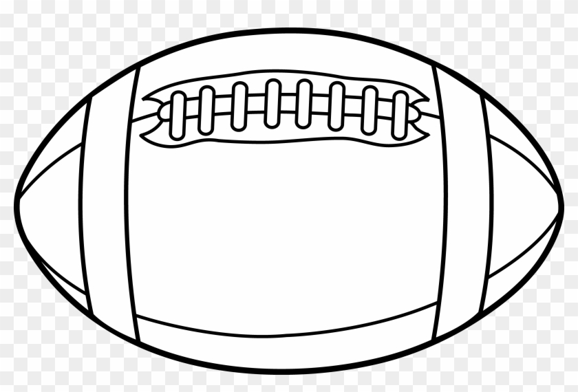 Rugby Border Clipart 3 By Jennifer - Football Black And White #66171