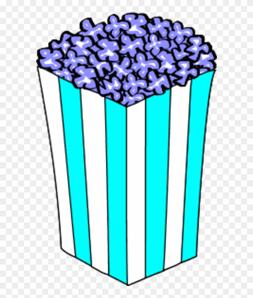 Popcorn Clip Art - Popcorn Box Clipart #66207