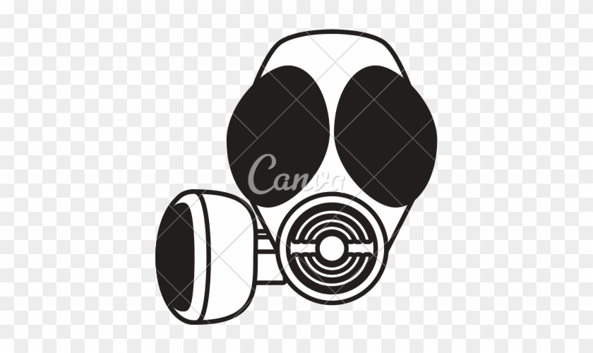 Gas Mask Clipart Mac - Vector Graphics #66213