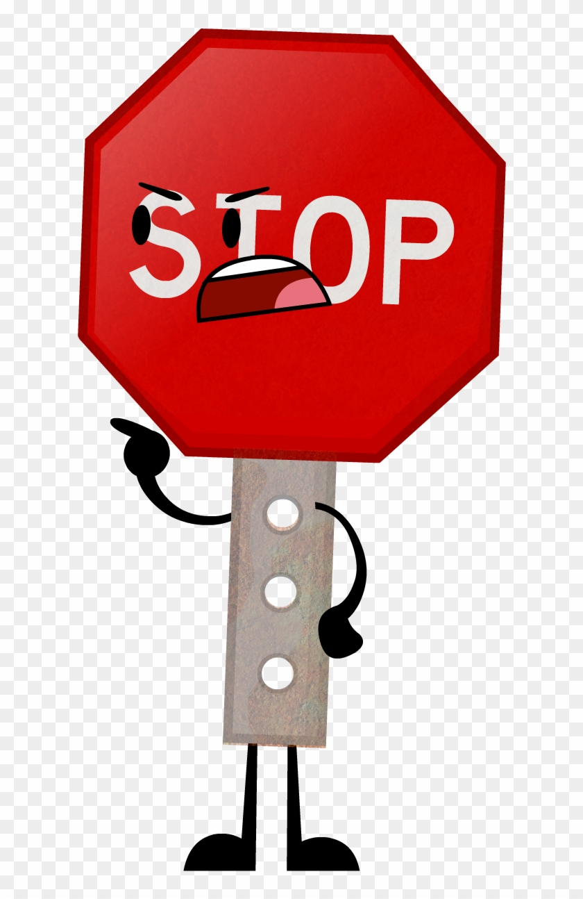 Clipart Stop Or No Sign - Object Lockdown Stop Sign #66239