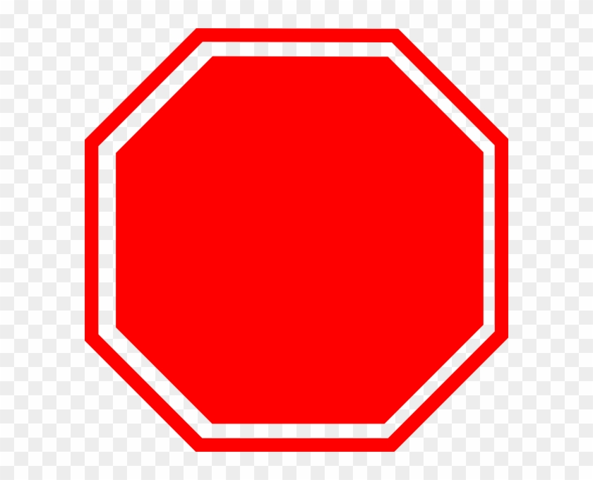 Stop Sign Clip Art The Cliparts - Blank Stop Sign #66250