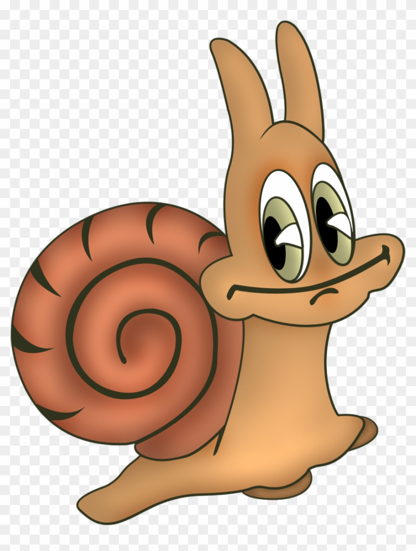 Snail Clip Art Pictures Answers - Cartoon Forest Animals .png #66382