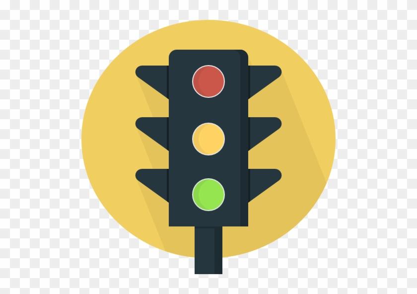 Size - Yellow Traffic Light Png #66410