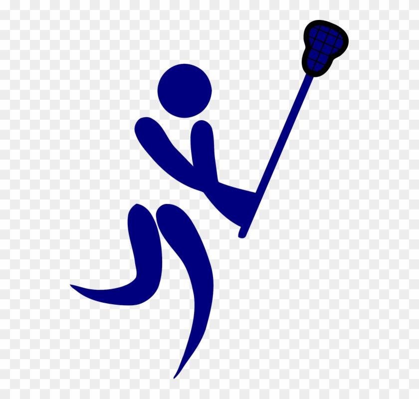 Lacrosse Clip Art - Lacrosse Stick Clip Art #66413