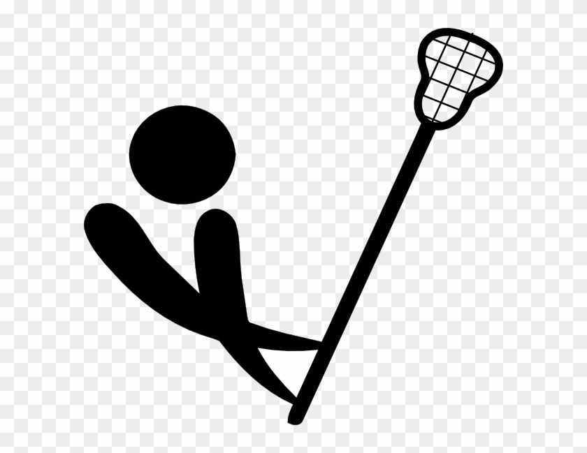 Lax Ltrhd Clip Art At Clker - Lacrosse Stick Clip Art #66436