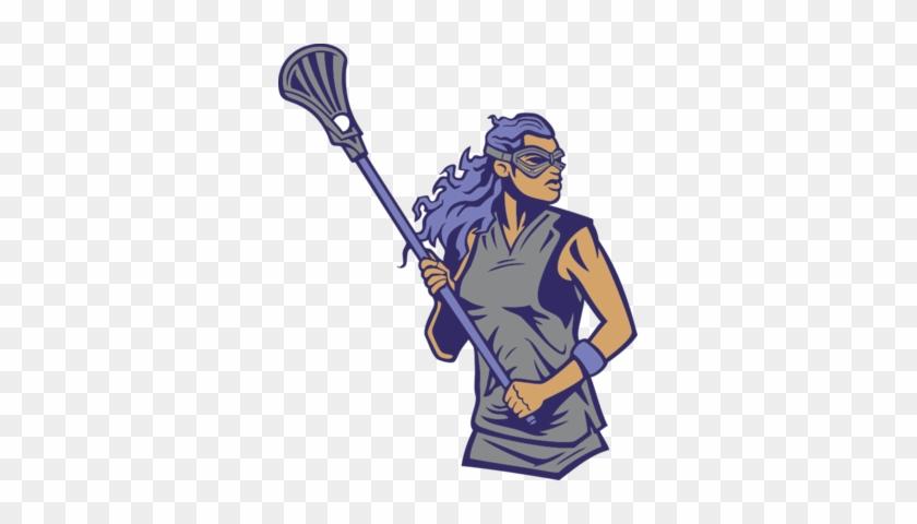 5 Colors - Custom Womens Lacrosse Player Throw Blanket #66440