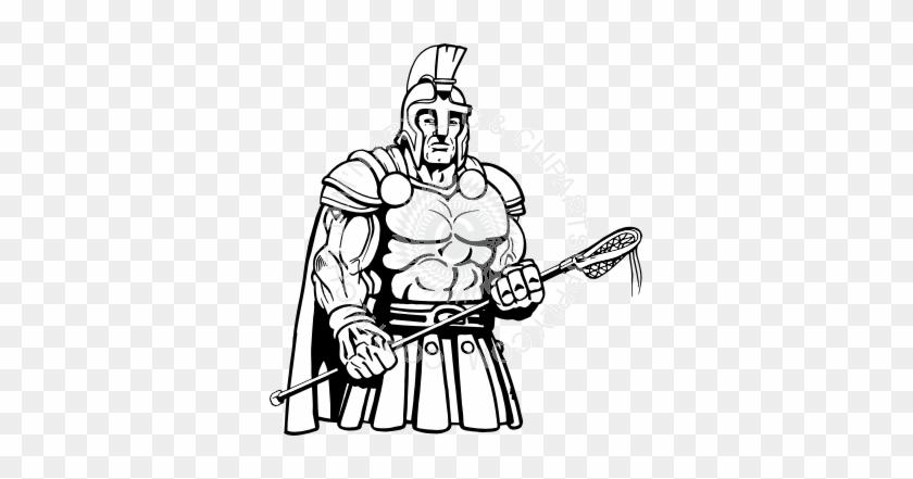 Trojans Lacrosse Art Design #66475