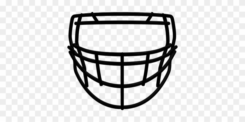 Masks Clipart Football - Custom Riddell Speed Flex Facemasks #66500
