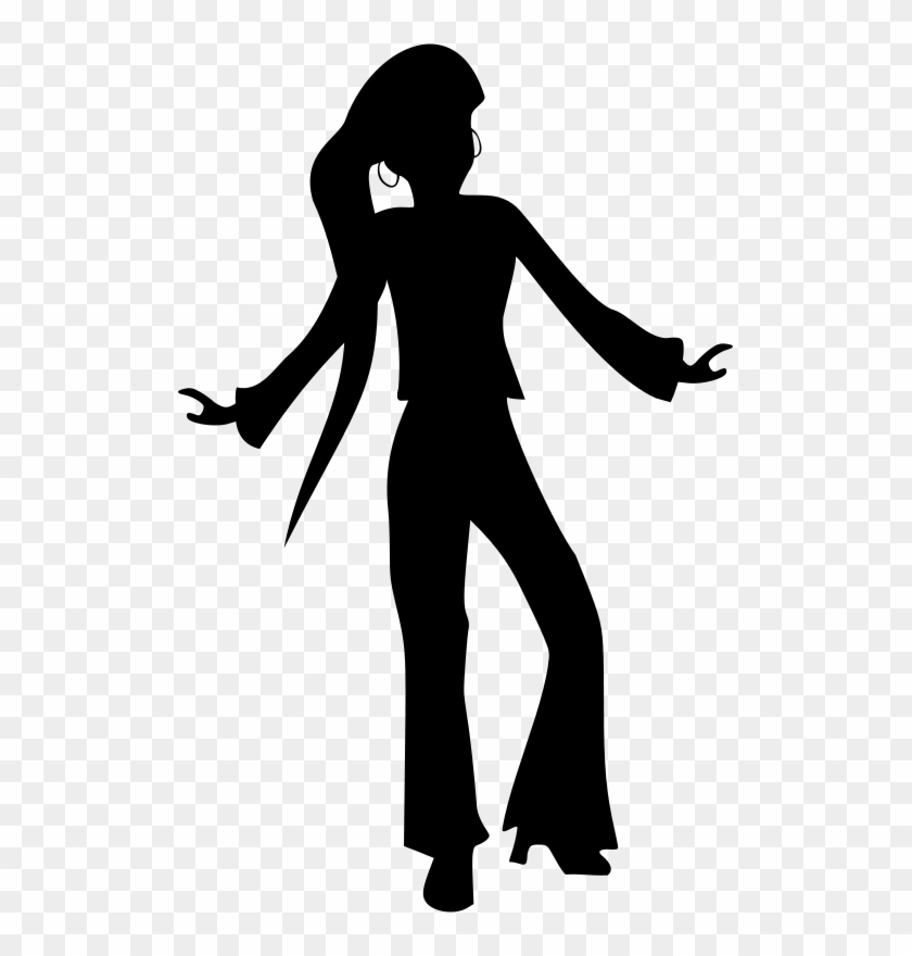 Disco Dancers Clip Art #66512