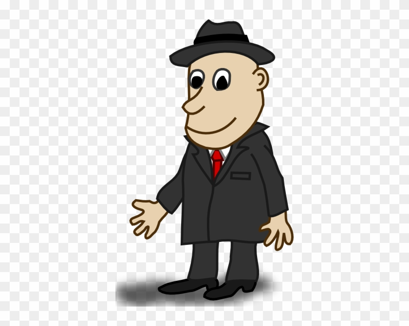 Free Vector Comic Characters Businessman Clip Art - Character