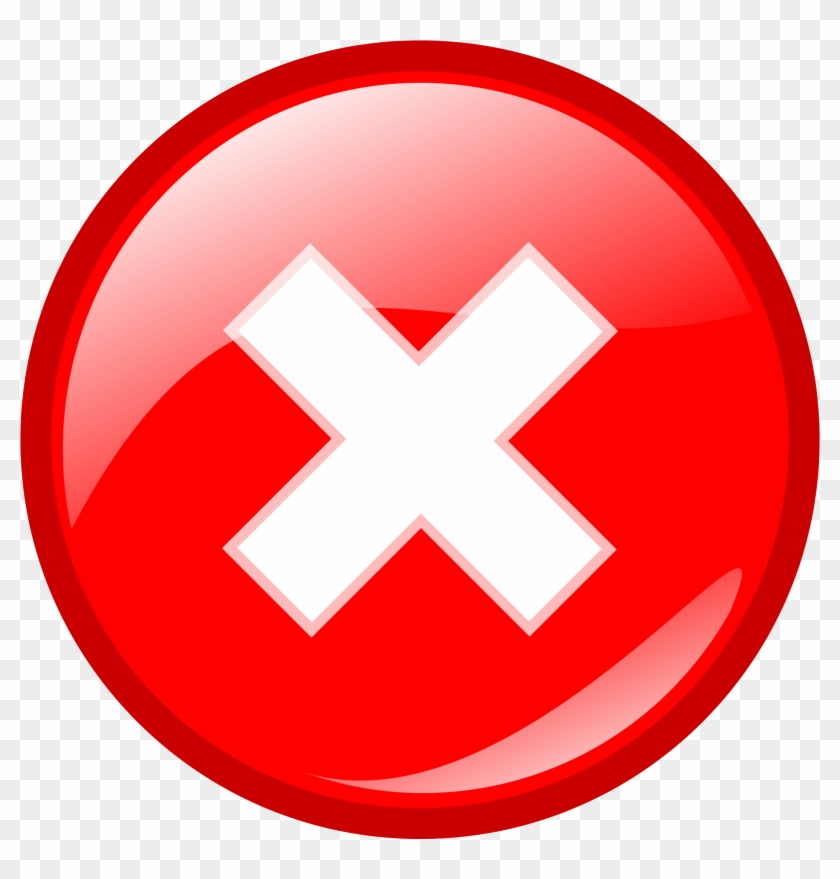 Blank Stop Sign Clipart Panda Free Images - Error Icon #66567