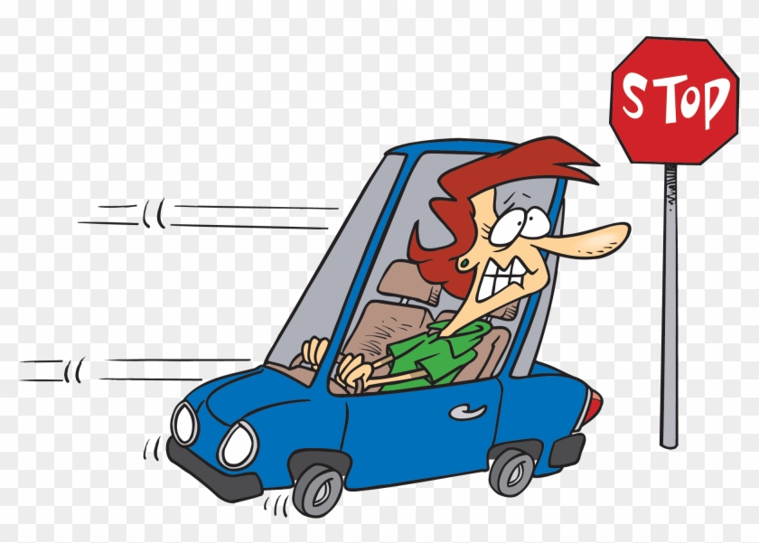 Showing Post & Media For Reverse Cartoon - Running A Stop Sign #66571