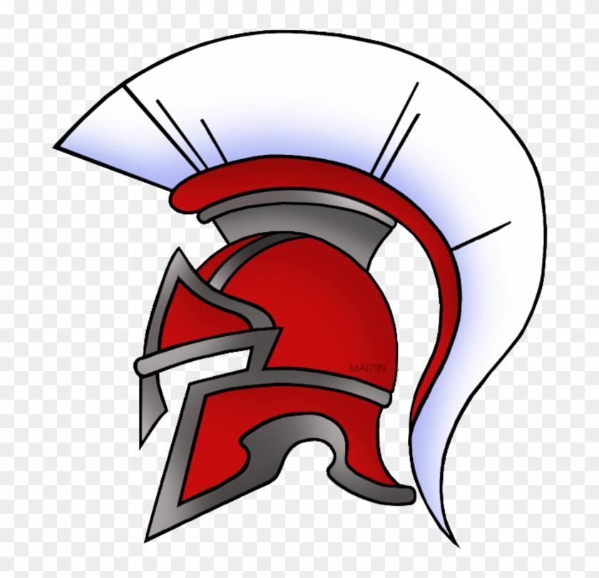 Roman Clip Art - Sparta City State Symbol #66599