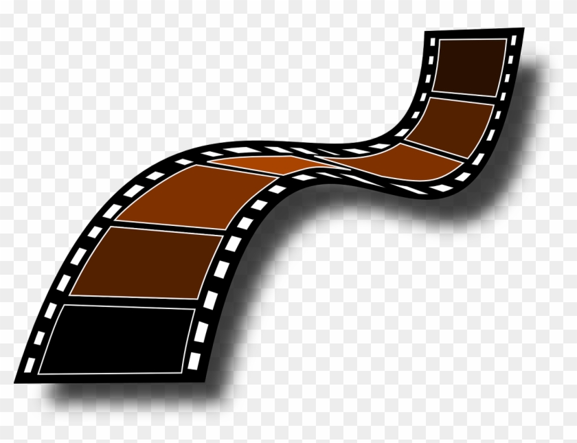 Filmstrip Film Frames Camera Film Roll The Tape - Film Strip Clip Art #66617