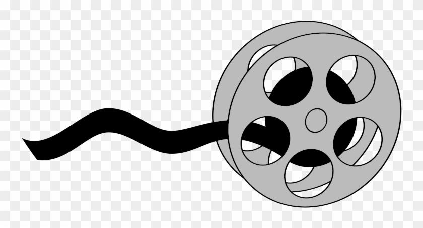 Clipart Of Roll, Movie And Theater - Clipart Of Roll, Movie And Theater #66631