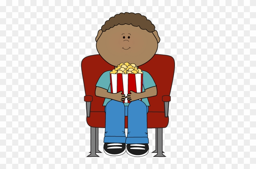 Movie - Watching A Movie Clipart #66663