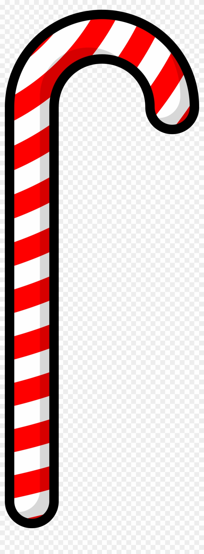 Inspiring Design Candy Cane Clipart Black And White - Candy Cane Clip Art #66689