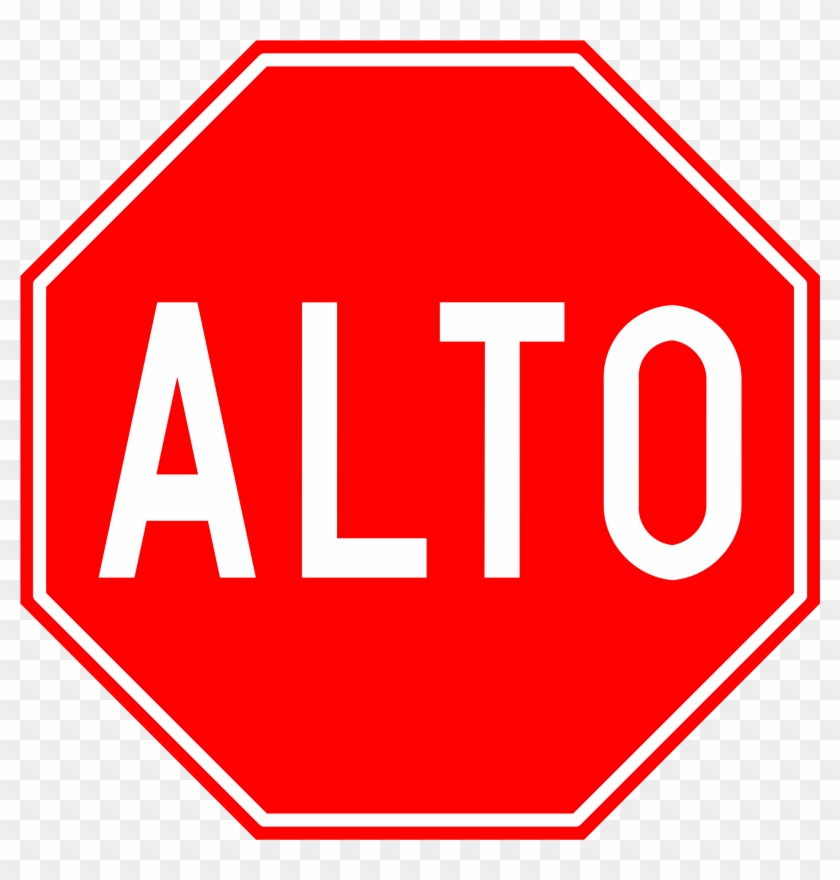 Stop Clipart Road Traffic - Shape Of A Stop Sign #66701
