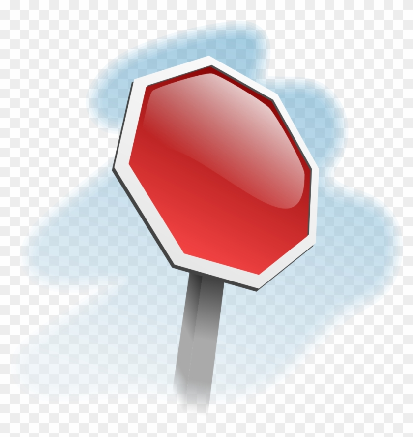 photograph about Stop Sign Printable named Blank Close Indicator
